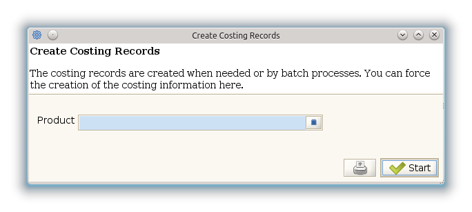 Create Costing Records - Process (iDempiere 1.0.0).png