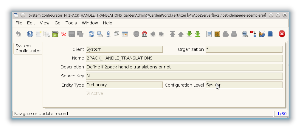 System Configurator - System Configurator - Window (iDempiere 1.0.0).png